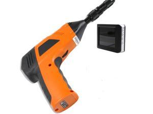 "3.5"" Wireless TFT LCD Inspection Camera Borescope Endoscope Zoom Rotate 2M flexible tube - Mini 9mm Waterproof LED Lens"