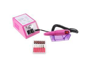 Electric Nail Drill Manicure Pedicure File Acrylic Kit Set Bits Gel Polish