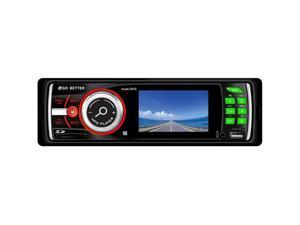"3"" TFT LCD Car Audio Stereo In-Dash DVD/CD/MP4/USB/AM/FM Radio Player w/ USB and SD Card Inputs"