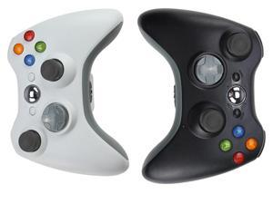 2 Packs New 2.4 GHz Wireless Remote Controllers for Xbox 360 – Black & White