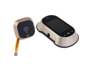 "2.8"" LCD Door Viewer Peephole Camera Record With Taking Pictures Function w/ free 2GB SD Card"