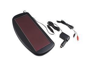 1.5 Watt 12V Solar Panel Battery Charger for Cars, RVs, SUVs, Boats, Motorcycles