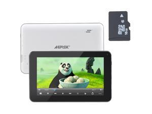 "AGPtek 7"" -inch Dual Core 4GB Tablet PC W/ 16 GB Micro SD Card – WiFi/ Capacitive Full Touch Screen/ Android 4.1 Jelly Bean/ ..."