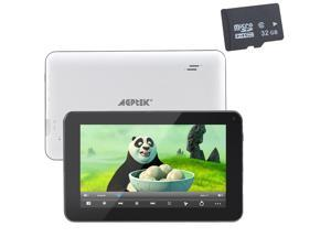 "AGPtek 7"" -inch Dual Core 4GB Tablet PC W/ 32 GB Micro SD Card – WiFi/ Capacitive Full Touch Screen/ Android 4.1 Jelly Bean/ ..."