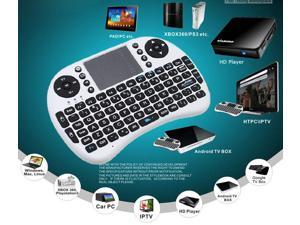 2.4GHz USB Wireless Keyboard Touchpad for PC, Android TV Box, Google TV Box, HTPC/IPTV, HD Player