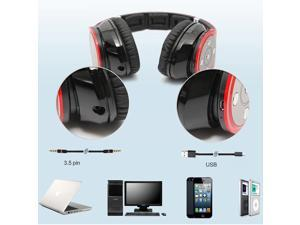 Bluedio R+ 8 Sound Tracks Bluetooth 4.0 HiFi Headset Wireless Headphone- Support NFC/AptX, Built in Micro-SD Card