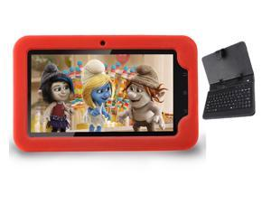 """AGPtek 7"""" -inch WiFi Capacitive Full Touch Screen Android 4.0 Kids Tablet Child Tablet Children Tablet + Protect Keyboard ..."""