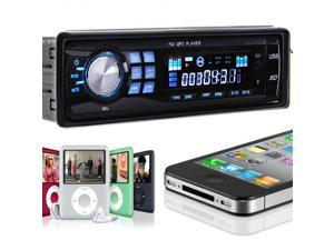 Car In-Dash Stereo Audio FM Receiver w/ MP3 Player USB SD Input AUX