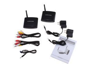 AGPtek Audio Video AV 2.4GHz Wireless Transmitter Receiver IR Remoter for DVD, DVR, CCD Camera, IPTV, Satellite Set-top Box, ...