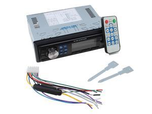 AGPtek Car In-Dash Stereo Audio FM Receiver w/ MP3 Player USB SD Input AUX