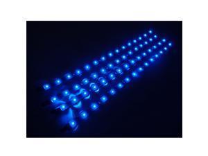LED Car Motors Truck Flexible Waterproof Light Strips 4x30cm Blue