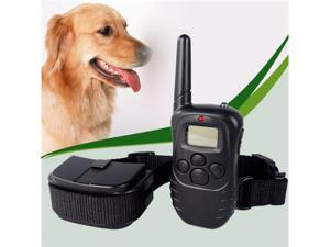 LCD 100 Level Shock & Vibra Remote Dog Training Collar Dog Training System