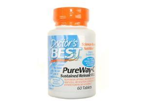 Doctor's Best PureWay- C Sustained Release Vitamin C 60 Tablets