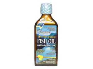 Very Finest Fish Oil Lemon Flavor - Carlson Laboratories - 200 ml - Liquid