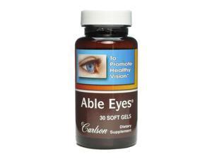 Able Eyes - Carlson Laboratories - 30 - Softgel