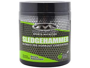 Sledgehammer, Sour Apple, 205 g, From Muscleology
