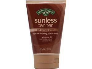 Sunless Tanner - Nature's Gate - 4 oz - Cream