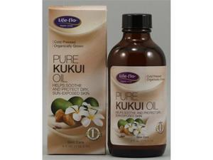 Pure Kukui Oil - Life Flo Health Products - 4 oz - Liquid