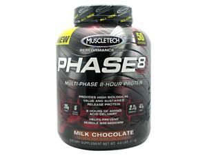 Phase 8, Milk Chocolate, 4.6 lbs, From Muscletech