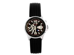 MLB New York Yankees Tritium Watch with Baseball Case
