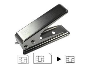 [ZIYA] High Quality Stainless 2 in 1 SIM Cutter Normal SIM and Micro SIM to Nano SIM Crad for iPhone 5 Smartphone