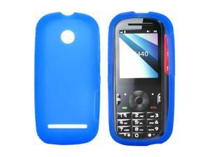 Motorola VE440 Silicone Case  Rubber Skin - Blue