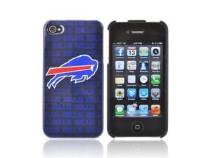 NFL Licensed Apple Iphone 4/4s Plastic Snap On Snap On Cover - Buffalo Bills