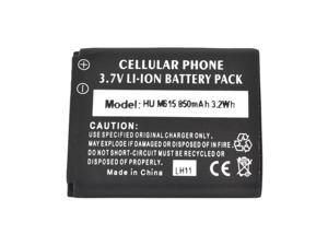 Black Back Up Standard Replacement Battery 850 Mah For Huawei Pillar