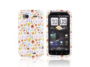 Slim & Protective Hard Case for HTC Sensation 4G - Ice Cream Desserts