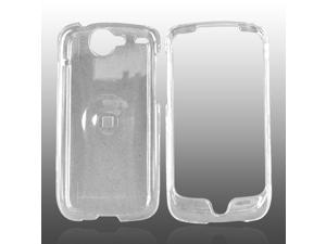 Google Nexus One Hard Plastic Case - Transparent Clear