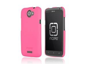 Incipio Feather HTC One X Ultra Thin Rubberized Plastic Snap On Cover, HT-288 - Hot Pink