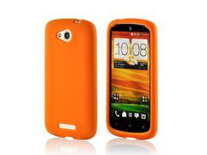 Orange Silicone Case for HTC One VX