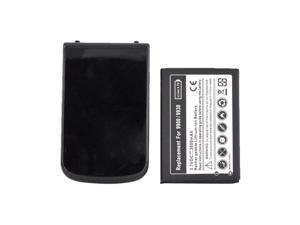 Blackberry Bold 9900, 9930 Extended Long Life Battery W/ Door (2800 Mah) - Black