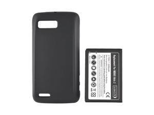 Motorola Atrix 2 Extended Long Life Battery W/ Door - Black (3000 Mah)