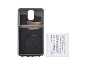 Black Extended Long Life Battery 2450 Mah W Door For Samsung Galaxy S2 Skyrocket