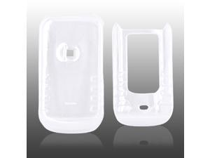 Motorola Brute I680 Hard Plastic Case - Transparent Clear