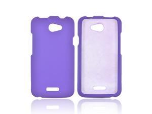 HTC One X Rubberized Hard Case - Purple
