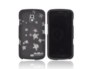 Samsung Galaxy Nexus Androitastic Rubberized Hard Case - Black Bubble Bot Invasion