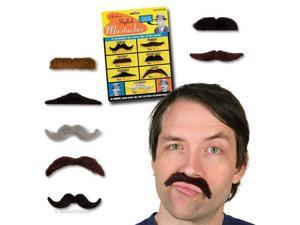Stylish Mustaches Manly Gag Gift - 7 Pack
