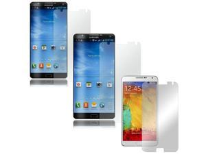 Screen Protector Medley w/ Regular, Anti-Glare, & Mirror Screen Protectors for Samsung Galaxy Note 3