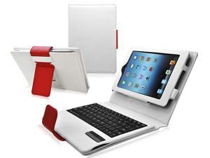 Ionic Bluetooth Keyboard Tablet Stand Leather Case for New Apple iPad Mini 7.9 inch / the iPad Mini 7 Inch / built-in Stand ...