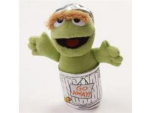 Enesco Sesame Street Oscar The Grouch Beanbag Plush - 5 Inches