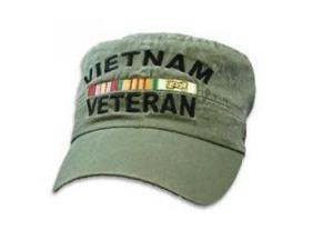 Vietnam Veteran Flat Top Cap by Eagle