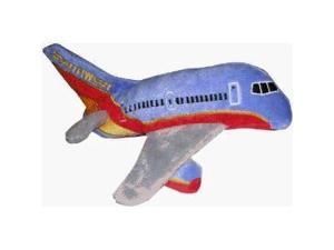 Daron Southwest Airlines Plush Toy Airplane with Sound