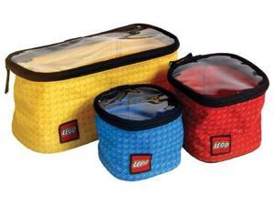 Play Visions Lego 3 Piece Toy Organizer Cubes