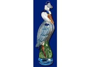 Old World Christmas Great Blue Heron Ornament