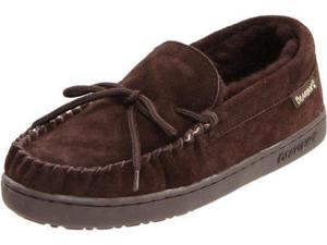 BEARPAW Women's Moc II Moccasin,Chocolate