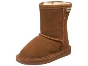 BEARPAW Emma 6.5 Inch Shearling Boot (Toddler),Hickory,5 M US Toddler