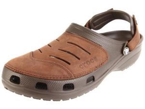 crocs Men's Yukon Clog,Chocolate/Chocolate,7 M