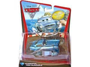 Disney / Pixar CARS 2 Movie 155 Die Cast Car Oversized Vehicle #6 Hydrofoil Finn McMissile